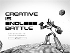 CREATIVE IS ENDLESS BATTLE − 1→10design, Inc.