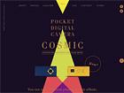 POCKET DIGITAL CAMERA - COSMIC SQ70